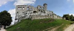 Zamek Ogrodzieniec (panorama)